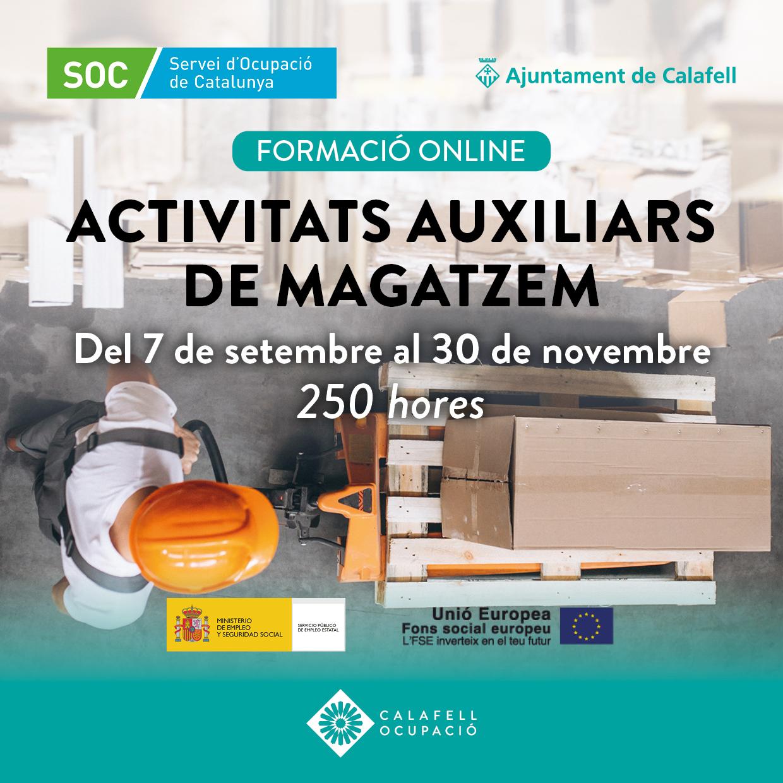 2019 Activitats auxiliars de magatzem