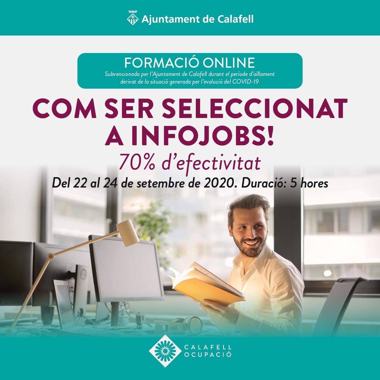 Com ser seleccionat a Infojobs! 70% d'efectivitat