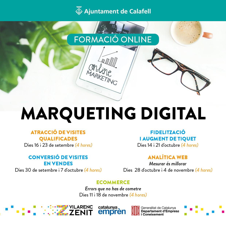 Màrqueting digital: Conversió de visites en vendes